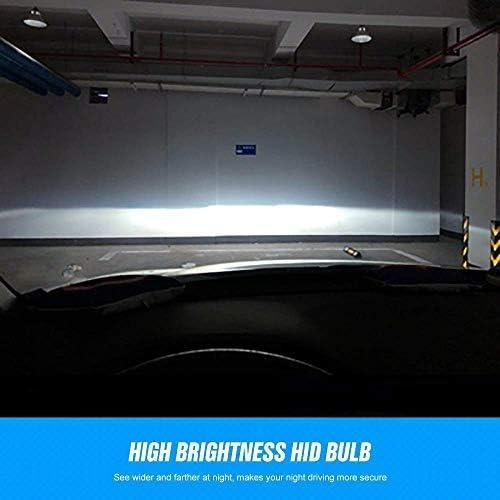 2 Lampes X/énon HID Lampe de Rechange 12V 35W 10000K D1S Xenon Ampoules