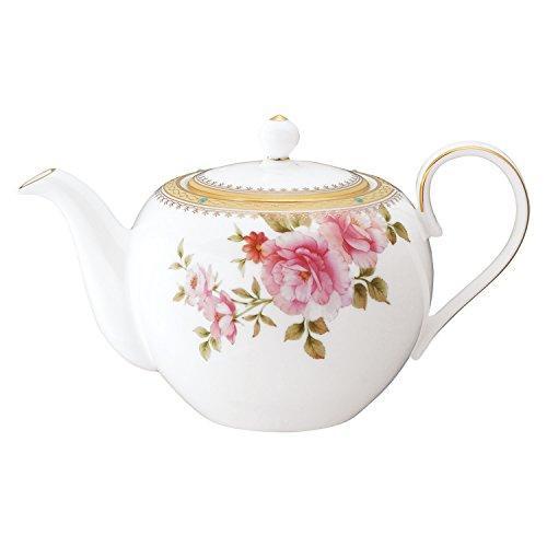 Bone china teapot Hartford T97284/4861 (japan import) by Noritake