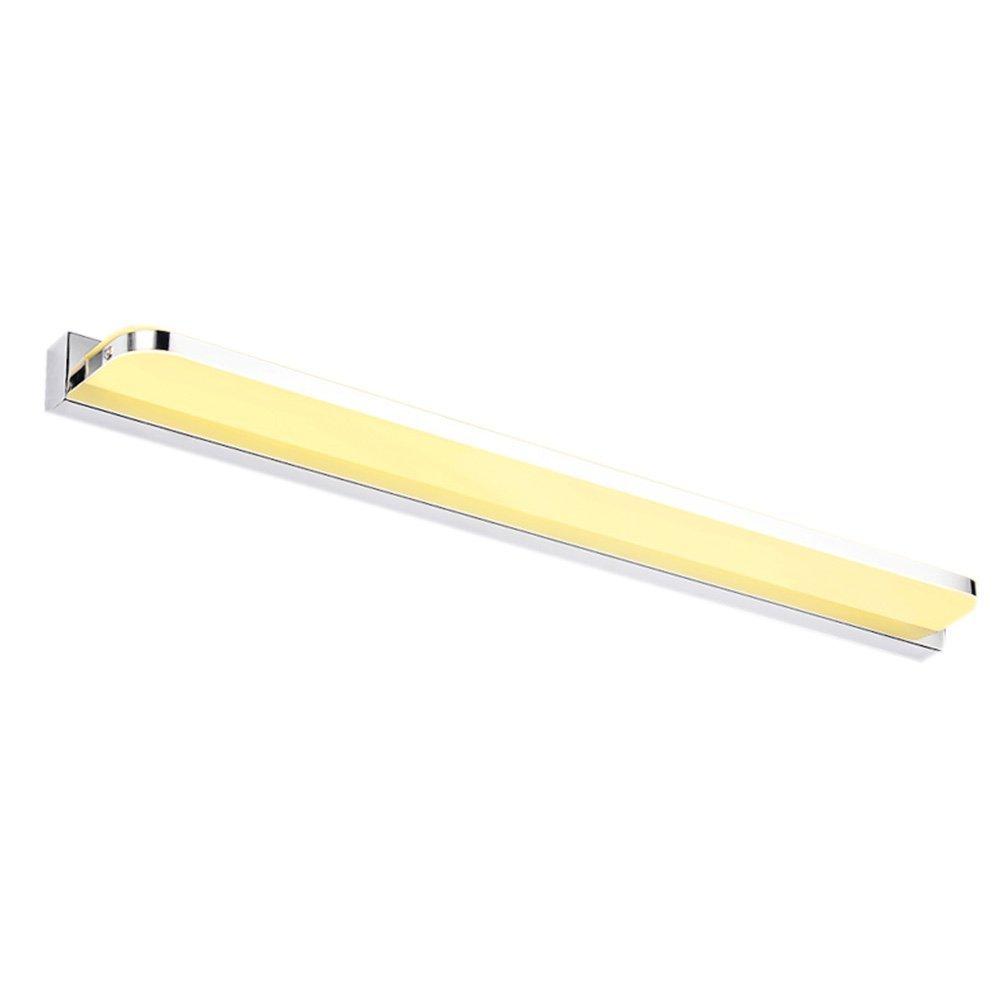 Fenciayao LEDの湿気の霧の浴室の浴室の構造のステンレス鋼の白熱レンズライト浴室の付属品 (Color : Warm Light, サイズ : 110cm(43.3inch)) 110cm(43.3inch) Warm Light B07QWWQNSL