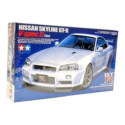 Tamiya America, Inc 1/24 Nissan Skyline GT-RV, TAM24258: Toys & Games