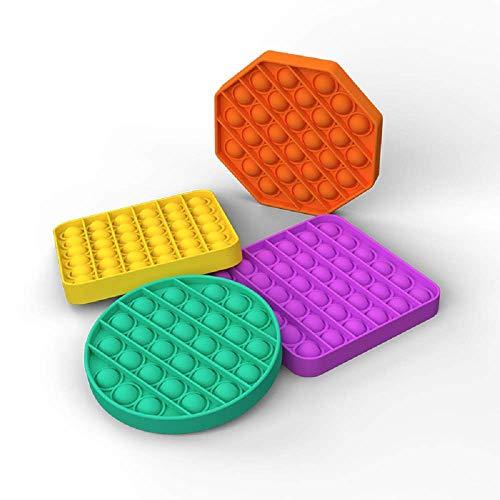 Pop Fidget Toy Push Pop Bubble Sensory Fidget Toys for Autism Special Needs Stress Reliever