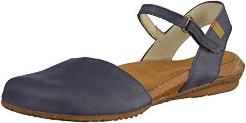 Sandalias N412 Azul Mujer Azul Pleasant Velcro Wakataua Ocean wrwXH7BxCq