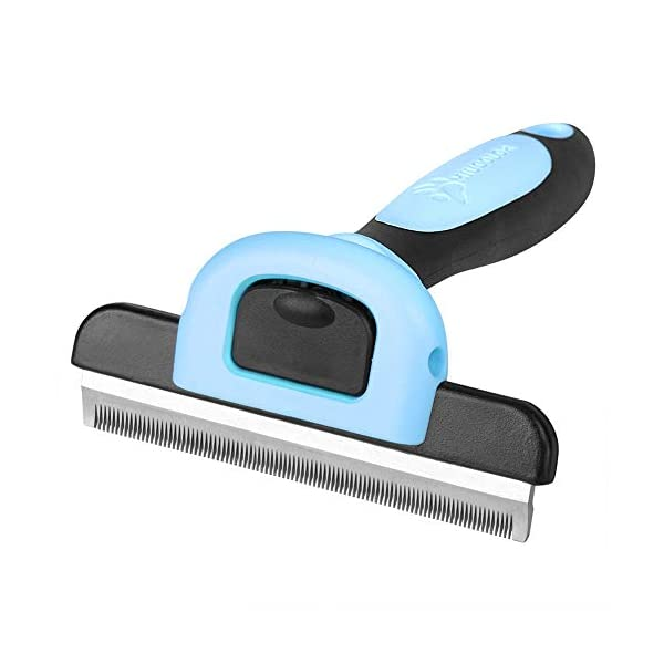 MIU COLOR Pet Deshedding Brush, Professional Grooming Tool, Effectively Reduces Shedding by Up to 95% for Short Hair and Long Hair Dogs Cats 1