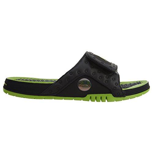 Nike Air Jordan Hydro 13 Xiii Sandalo Slide Bianco / Rosso Nero / Altitudine Verde-altitudine Verde