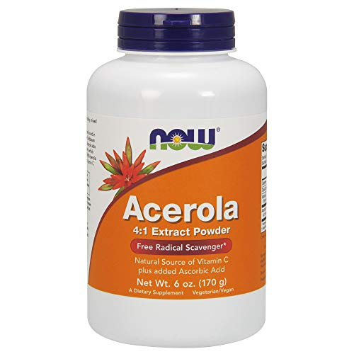 NOW Supplements, Acerola Powder, 6-Ounce