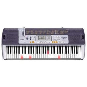 casio lk110 electronic keyboard key lighting midi musical instruments. Black Bedroom Furniture Sets. Home Design Ideas