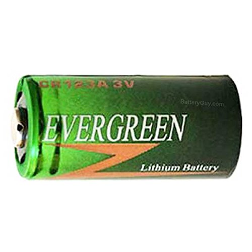 Evergreen CR-123A Photo Lithium Battery Replacement