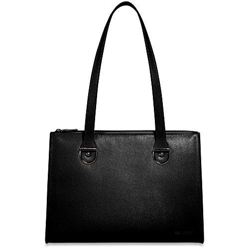 Jack Georges Chelsea Large Shoulder Bag 5885 (BLACK) by Jack Georges