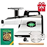 Tribest Greenstar Elite GSE-5050 Jumbo Twin Gear Cold Press Juice Extractor - Chrome Special Package