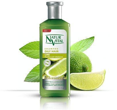 Волосы Шампунь Lime - Жирных волос - 300 мл / Natural & Organic