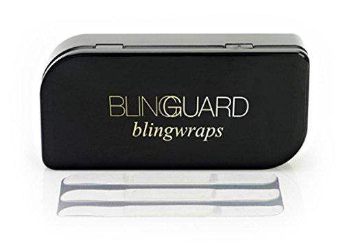 BlingGuard Gem Stone King BlingWraps Invisible Ring Guards (30 Disposable Bands) ()