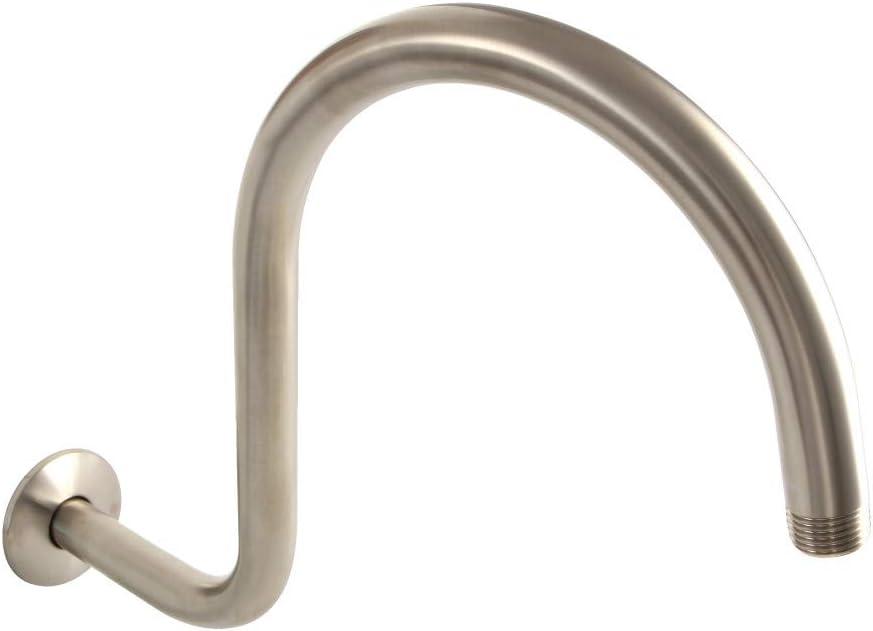 Kingston Brass K114C8 Restoration 14-Inch Shower Arm and Flange