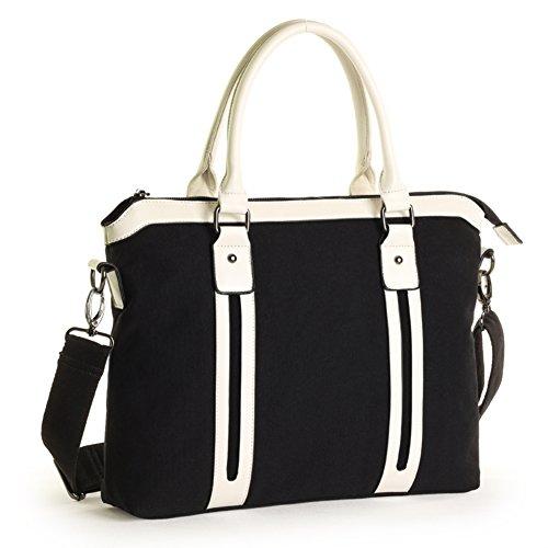 Messager Portfolio Fashion Laptop Mens Casual e Student Business D Package Shoulder Handbag Canvas Bag qttRg1