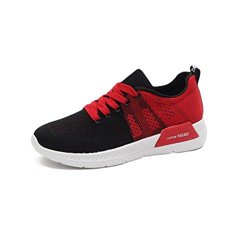 Zapatos De Mujer Senderismo Zapatos Ligeros para Caminar Zapatos para Correr Confort Transpirable Al Aire Libre Negro