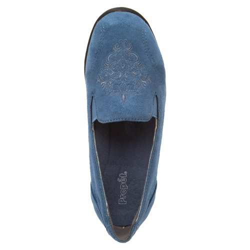 Propet Mujeres Sutton Comfort Shoe Jeans Terciopelo