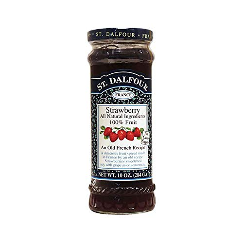 St. Dalfour All Natural Fruit Spread Strawberry -- 10 oz