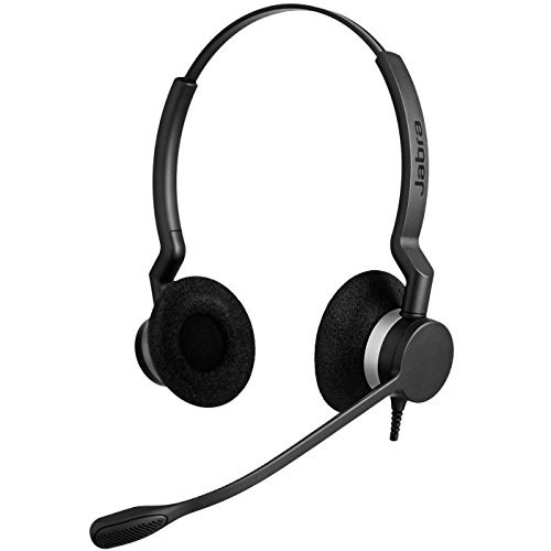 Jabra BIZ 2325 QD DUO Wired Professional Headset - Gn Netcom Headset Adapter