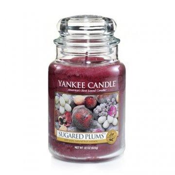 Yankee Candle Sugared Plums Limited Edition 22 oz. Housewarmer Jar -