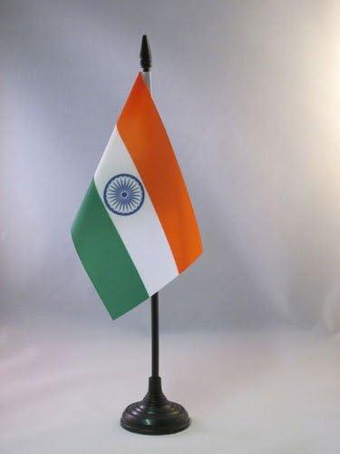 AZ FLAG Bandera de Mesa de India 15x10cm - BANDERINA de DESPACHO Indiana 10 x 15 cm: Amazon.es: Jardín