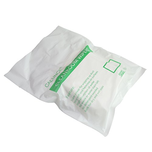 """Calunce2 Size of Microfiber Clean Room Wipes Reused Wipes 6""""× 6"""",100PCS or 9""""×9"""",100PCS (9""""× 9"""")"""