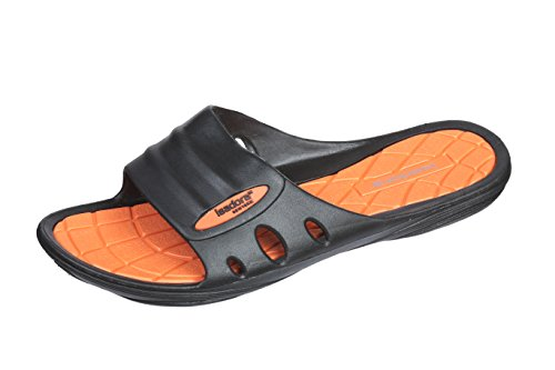 in Sandal Slippers Isadore Beach Colors Bright Womans New Fun Mahogany Slide Orange wnqYgxIpY