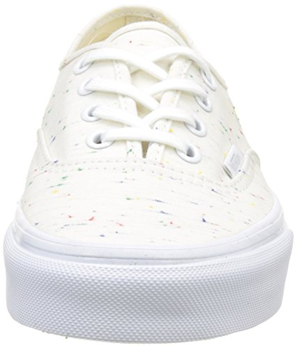 Vans Ua Authentic, Zapatillas para Mujer Hueso (Speckle Jersey Cream/true White)