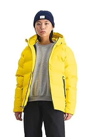 Huffer Women's WMNS SUPERDOWN Jacket, Acid Yellow, 14