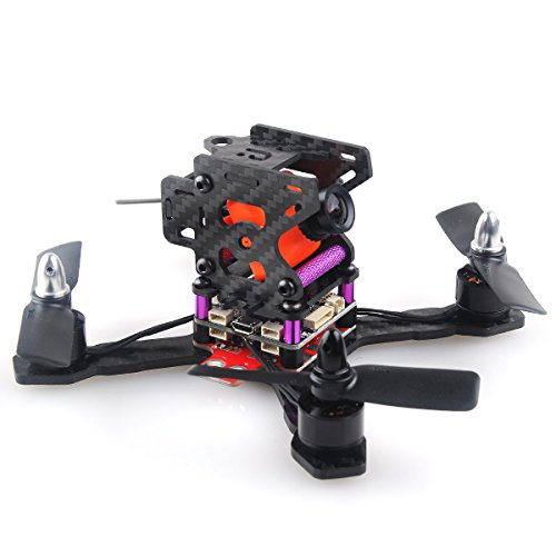 Crazepony X130 FPV Racing Drone Mini Quadcopter Carbon Fiber Frame Kit by Crazepony