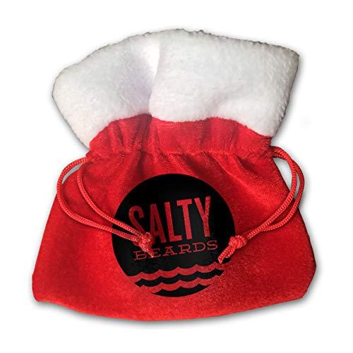 (CYINO Personalized Santa Sack,Salty Portable Christmas Drawstring Gift Bag)