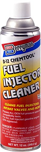 Berryman 1120 B-12 Chemtool Thru-Rail Fuel Injector Cleaner, 12 oz. Pressurized Can