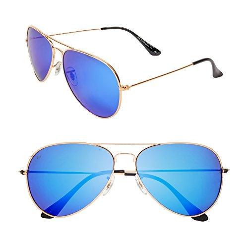 "- PRIVÉ REVAUX ""The Commando"" Polarized Aviator Sunglasses - Designer Eyewear"