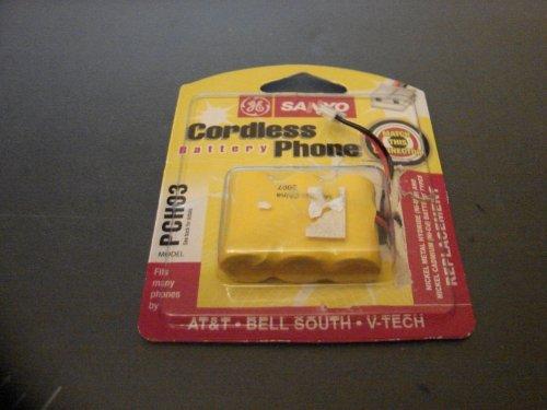 Sanyo Cordless Telephones - Sanyo PCH03 Cordless Battery Phone GES-PCH03 by Sanyo