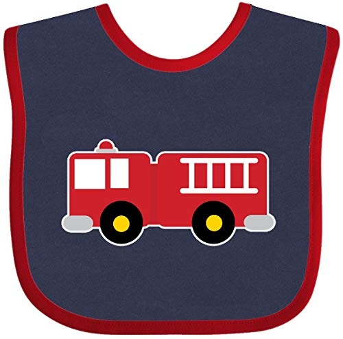 ck Childs Fireman Baby Bib Navy and Red 18a44 ()