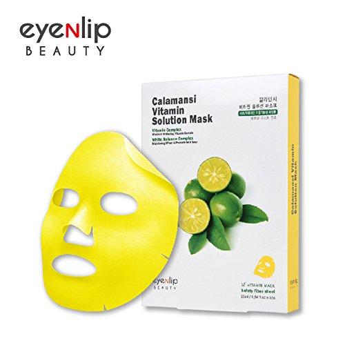 3f9c18012b9 80%OFF [Vtari] Premium Calamansi Vita Sheet Mask 5ea & Hydrogel Eye Patch