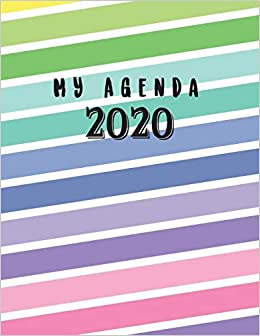 My Agenda 2020: Year Monthly Pocket Planner: 12 Month ...