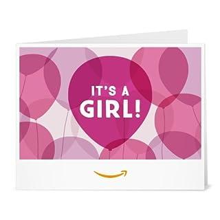 Amazon Gift Card - Print - It's a Girl Balloons (B01LYEPFR0)   Amazon price tracker / tracking, Amazon price history charts, Amazon price watches, Amazon price drop alerts