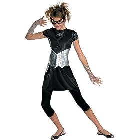 Black-Suited Spider-Girl Costume – Medium