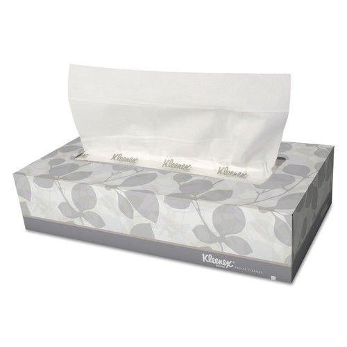 Kleenex 3076 White Facial Tissue, 2-Ply, 125/box, 12/carton