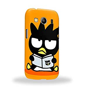 Case88 Premium Designs Bad Badtz-Maru Collection Bad Badtz-Maru Reading Carcasa/Funda dura para el Samsung Galaxy ACE 4 LTE G357