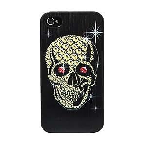HP-Alivio Cráneo duro del patrón para el iPhone 4/4S (multicolor)