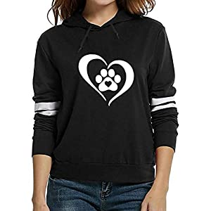 HYIRI 2018NEW Long Sleeve Hooded Solid Pullover Tops,Womens Fashion Print Blouse Shirt