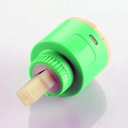 Skybath de salle de bain Lavabo en c/éramique 35/mm Disc Plastique de bain douche Lavabo /à levier robinet mitigeur Inner Cartridge de remplacement avec fixation et vis 35MM