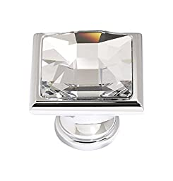 Alno C212-PC Traditional Crystal Knobs, 1-1/4\