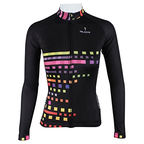 PaladinSport Women's Long Sleeve Cycling Jerseys Top Asian Size (Sobike Cycling Fleece)