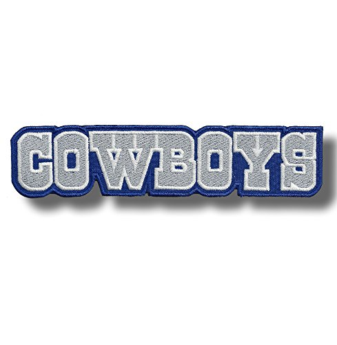 Cowboys - Embroidered Back Patch, 19 X 4 cm (Cowboy Patches)