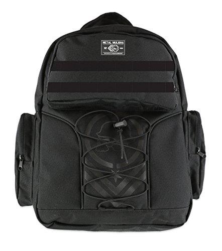 Metal Mulisha Mens Crude Backpack One Size Black