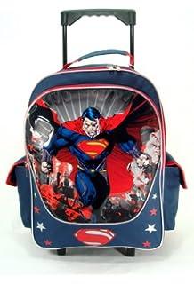 Batman Rolling Backpack - Boys Rolling School Bag: Amazon.ca ...