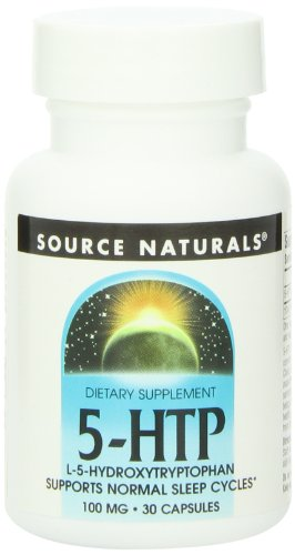 Source Naturals 5 HTP 100mg Capsules product image