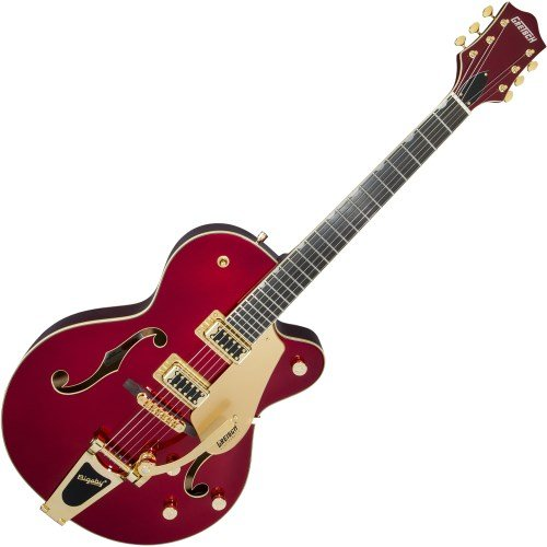 Gretsch Guitars G5420TG-CAR Electromatic Hollowbody Electric Guitar with Bigsby Candy Apple Red from Gretsch Guitars