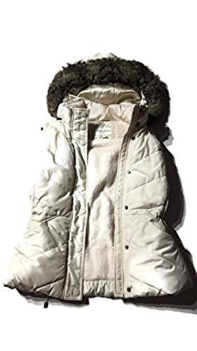 Banana Republic White Sleeveless Fur Coat Size Small NWOT